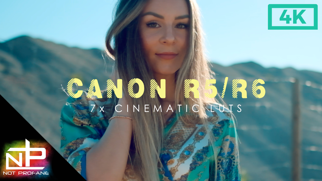 Best Cinematic Luts Canon R5
